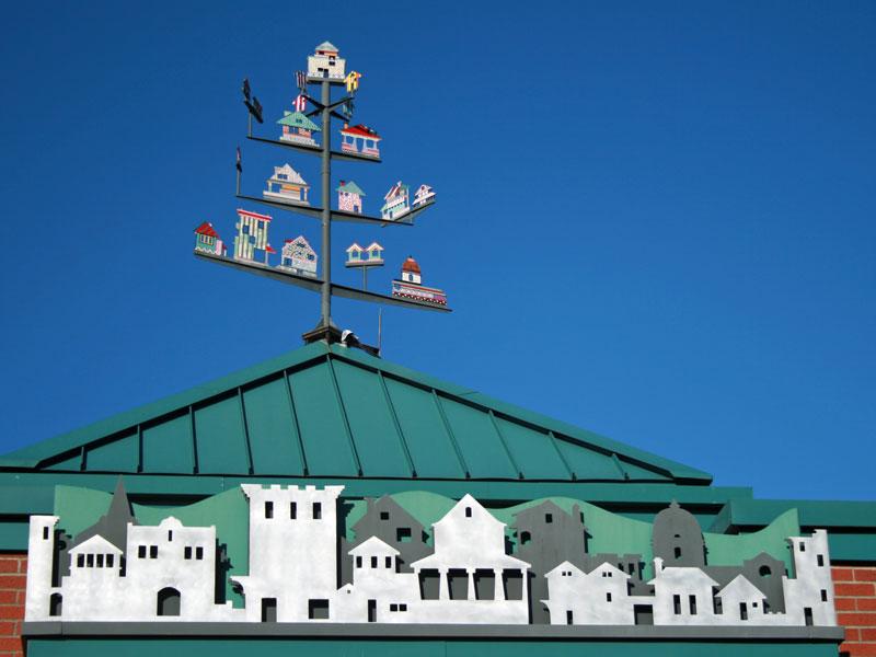 Miller Community Center Roof Art
