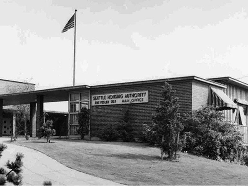 Yesler Terrace office - 1941