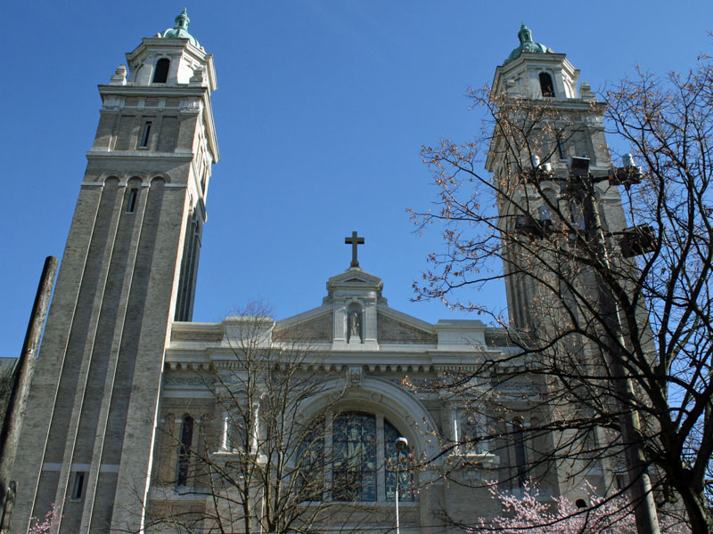 St. James Cathedral - First Hill