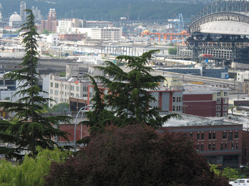 View south from Yesler Terrace