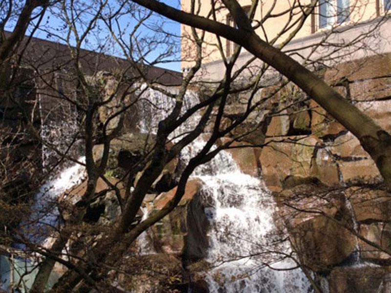 Waterfall Park - Pioneer Square