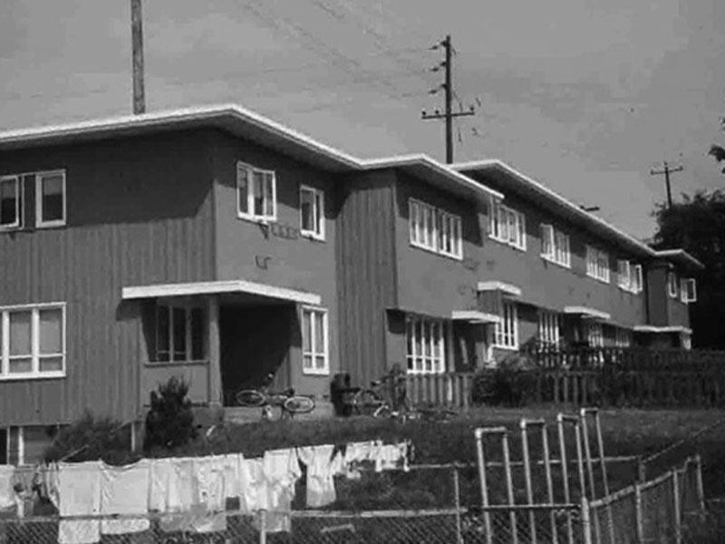 Yesler Terrace Housing 1950s