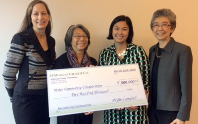 Yesler Community Collaborative receives multi-year grant from JPMorgan Chase & Co.