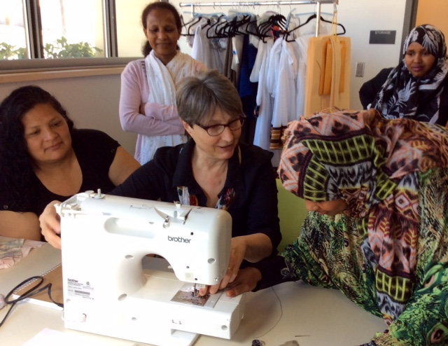 Industrial sewing class launches at Yesler Terrace