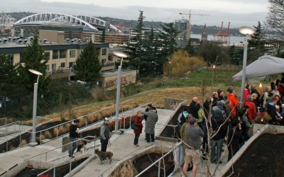 Seattle Housing Authority celebrates new Hillclimb, opens affordable housing at Yesler Terrace