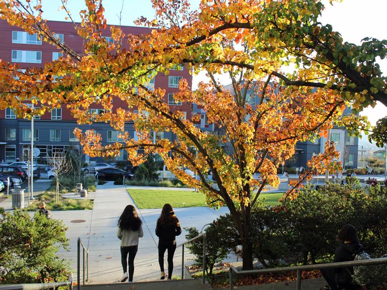 Girls Walking Near Yesler Comm. Center